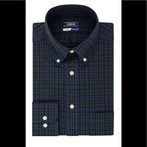 Long sleeve IZOD dress shirt NWT